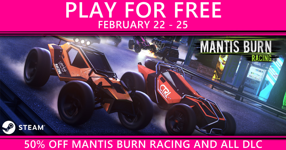 Mantis Burn Racing Free Title