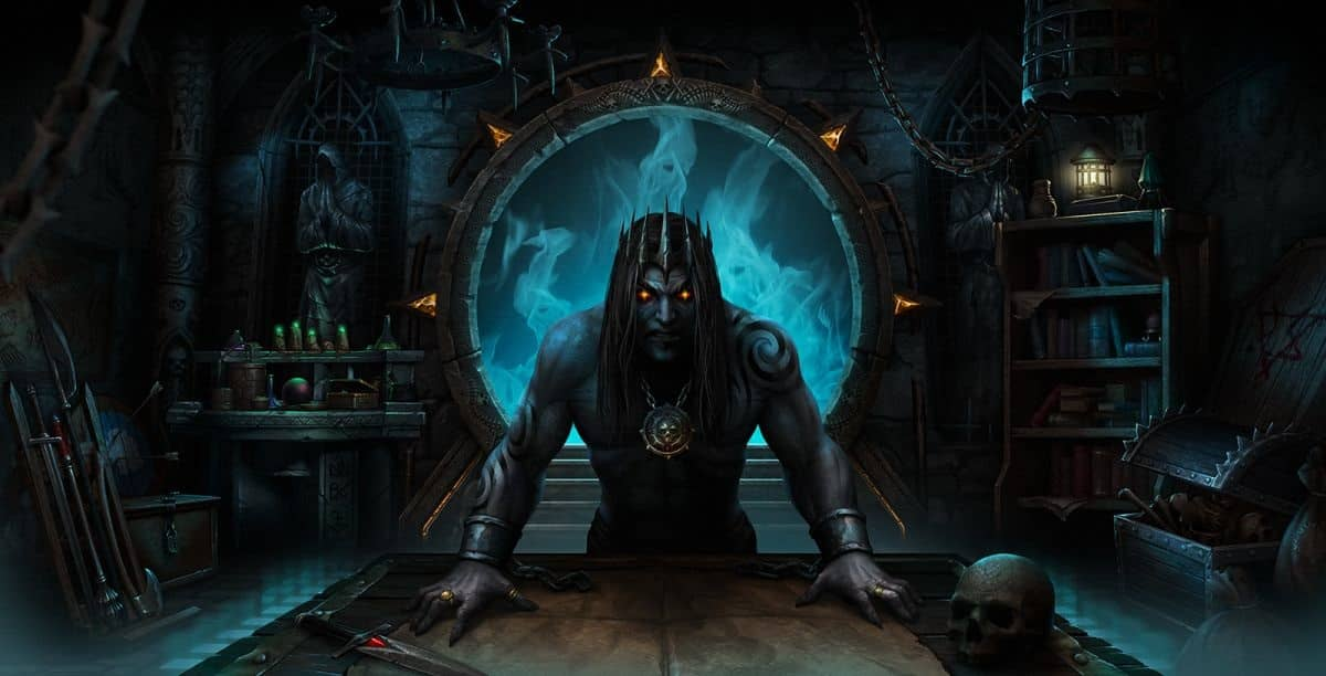 Iratus: Lord of the Dead Kickstarter Title