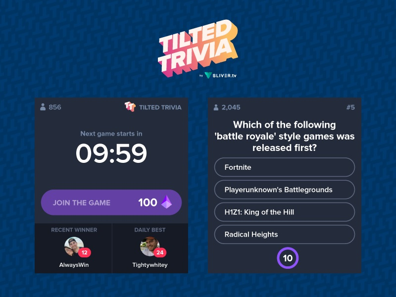 Tilted Trivia Extension Title
