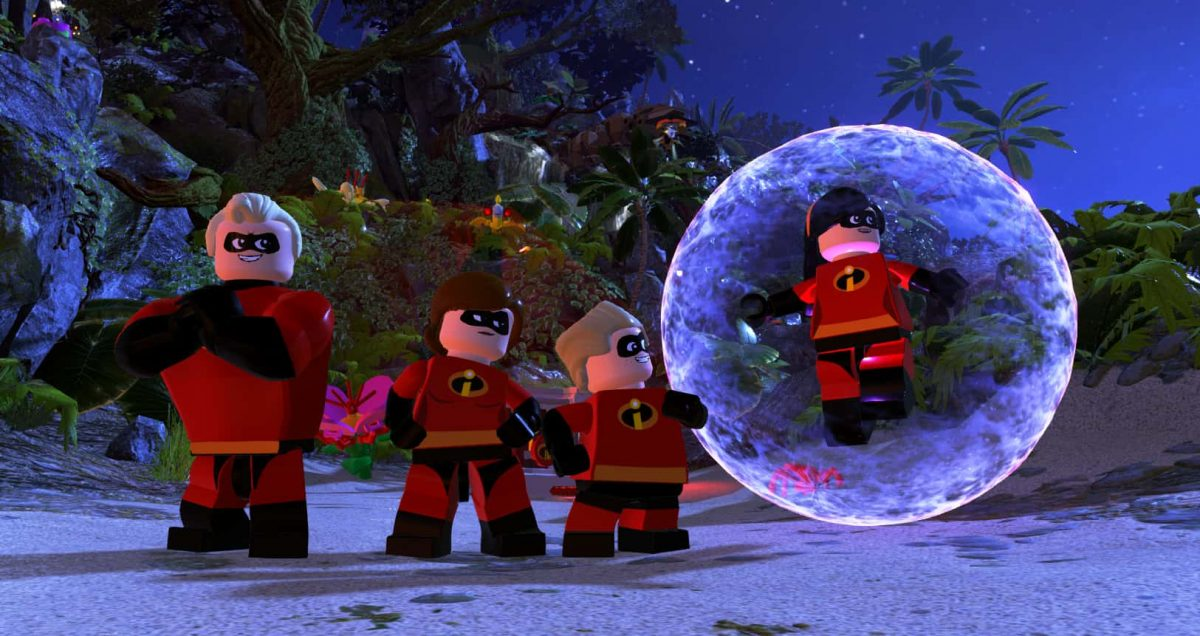 LEGO The Incredibles Game Title