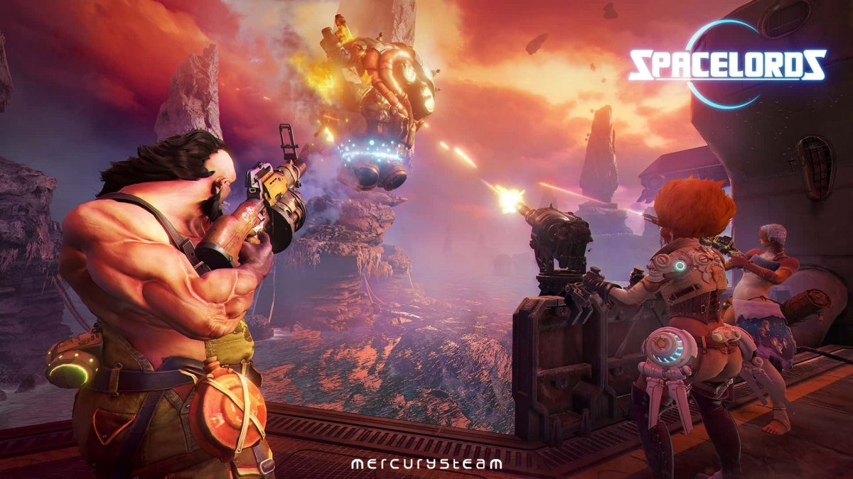 Spacelords Goes Free-To-Play Title