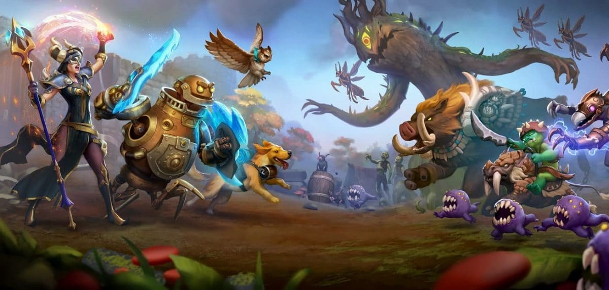 Torchlight Frontiers Title